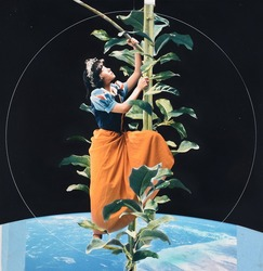 作品画像:天の都をめざして