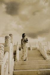 作品画像:北京の姑娘