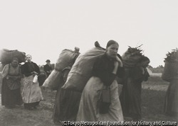 作品画像:家路につく薪拾いの女たち、ヴェステント小菜園を背景に