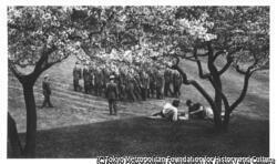 作品画像:士官候補生の訓練風景