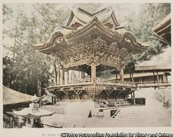 作品画像:21. 御嶽神社の神楽殿