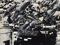 作品画像:消費弾の空襲