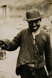 作品画像:若い炭鉱夫
