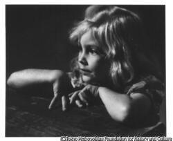 作品画像:山の少女