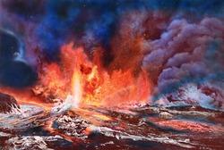 作品画像:炎の海より生れしもの