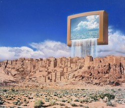 作品画像:テレビが見た夢