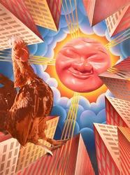 作品画像:真っ赤な太陽