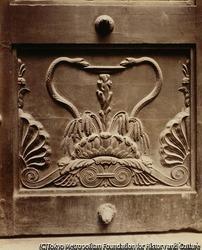 作品画像:医学アカデミーの扉、サン・ペール通り