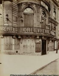作品画像:リシュリュー元帥のために建てられたアノーヴル館、イタリアン大通り33番地