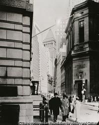 作品画像:ブロード・ストリートとビーヴァー・ストリート