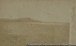 作品画像:台湾国車城ヨリ亀山眺望之図