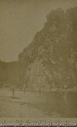 作品画像:台湾国石門口右側之山