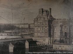 作品画像:旧フロールの館とチュイルリー公園