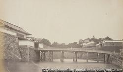 作品画像:江戸城二重橋