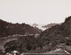 作品画像:長崎、立山から見た高鉾島