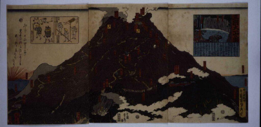 作品画像:三国大一山の図