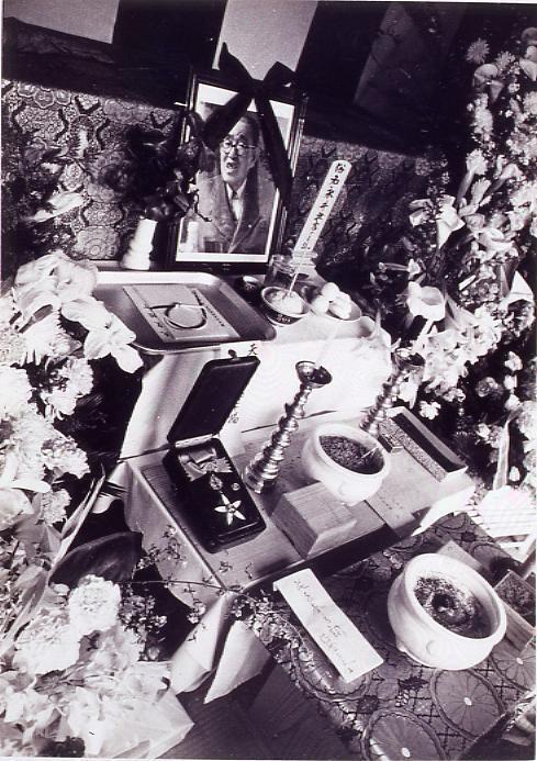 作品画像:永井荷風葬儀