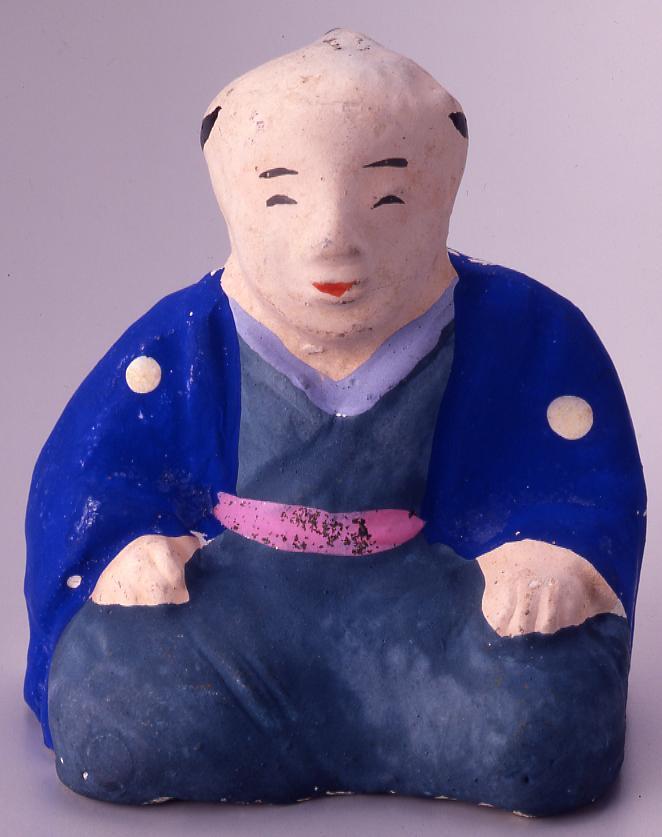 作品画像:今戸人形 さんすくみ(庄屋)
