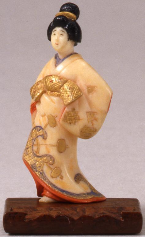 作品画像:京風人形