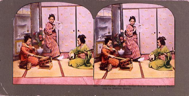 作品画像:Yokohama,Japan.Mous-Mis or Dancing Girls Dancing to Native Music.603
