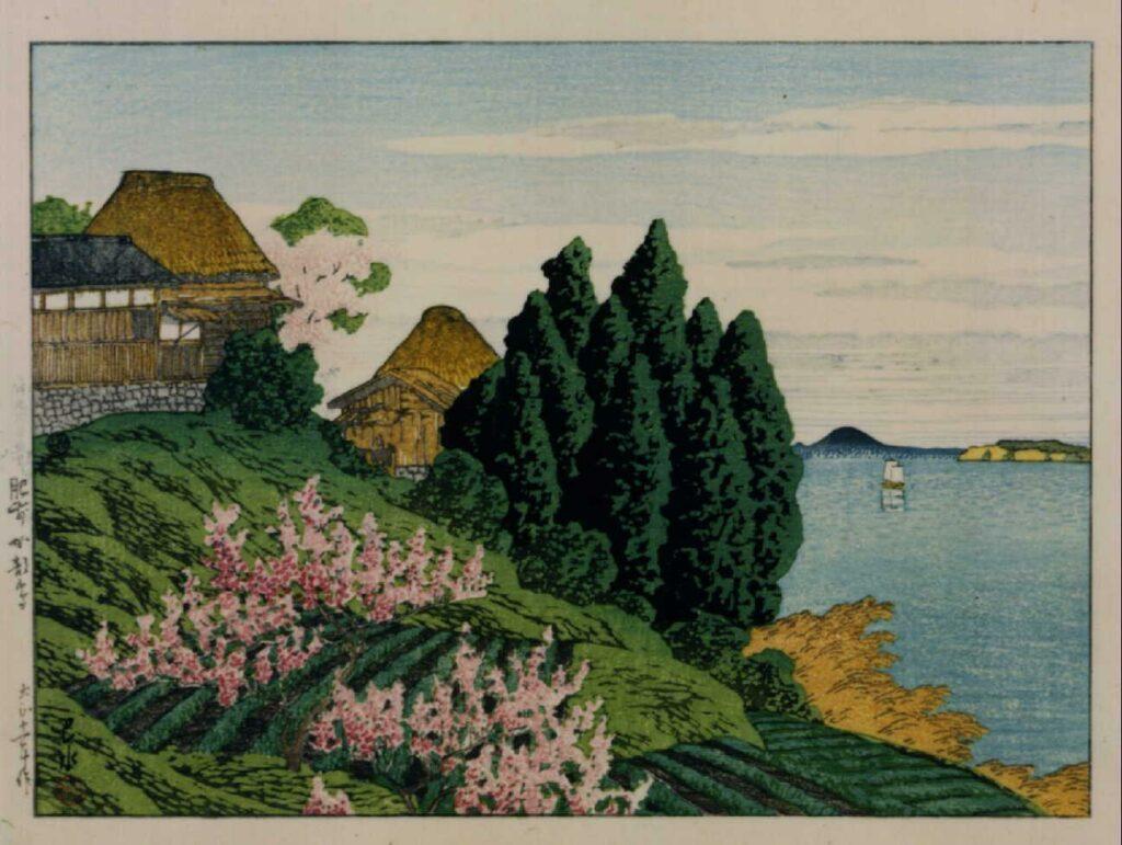 作品画像:日本風景選集 十九 肥前加部島