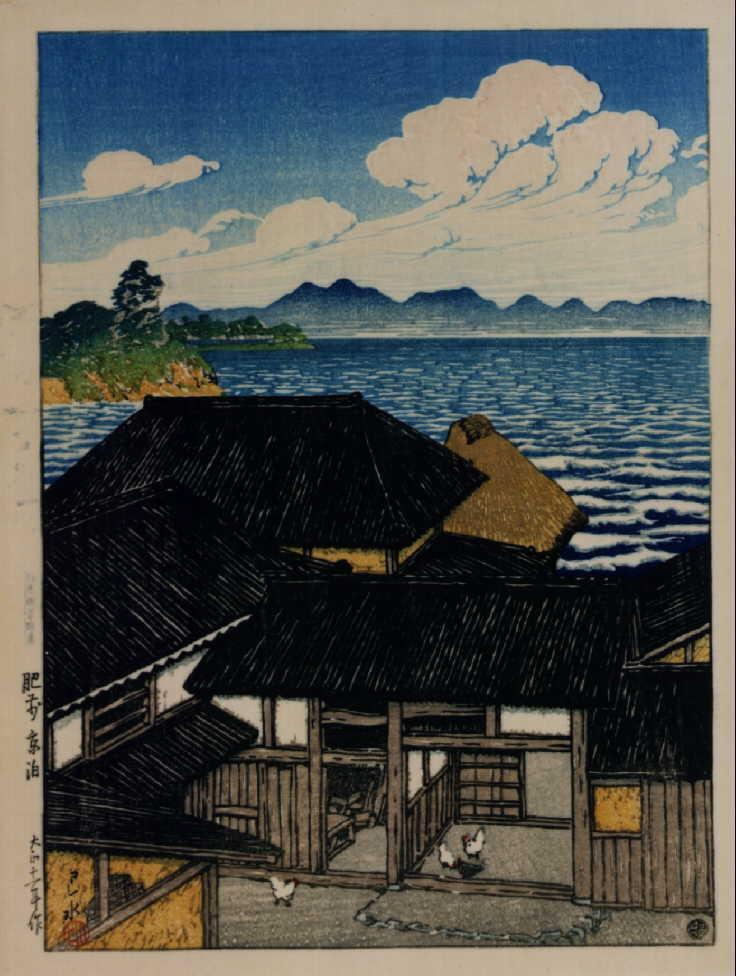 作品画像:日本風景選集 二十 肥前京泊