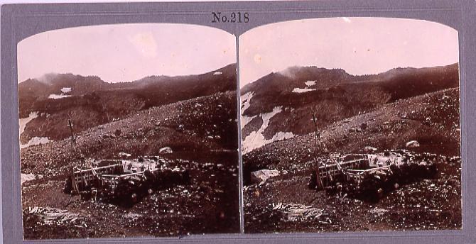 作品画像:富士山頂 金明水(No.218)