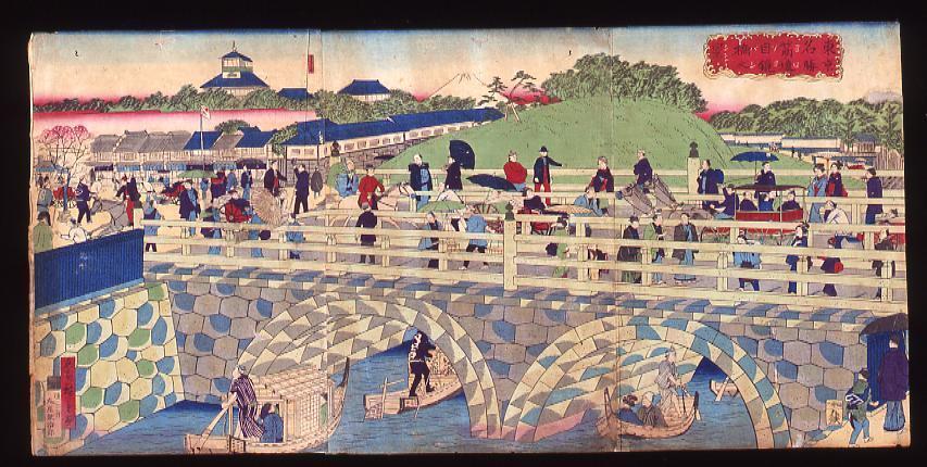 作品画像:東京名勝筋違目鏡橋之景