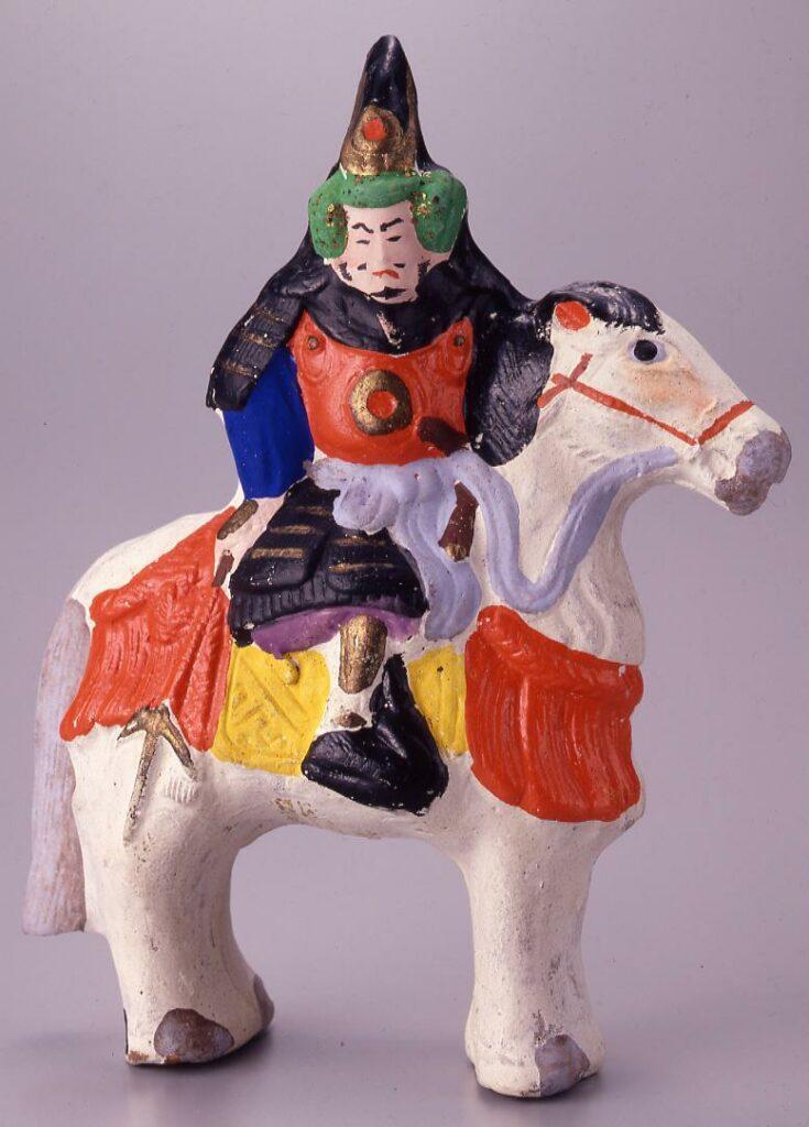 作品画像:今戸人形 馬乗加藤