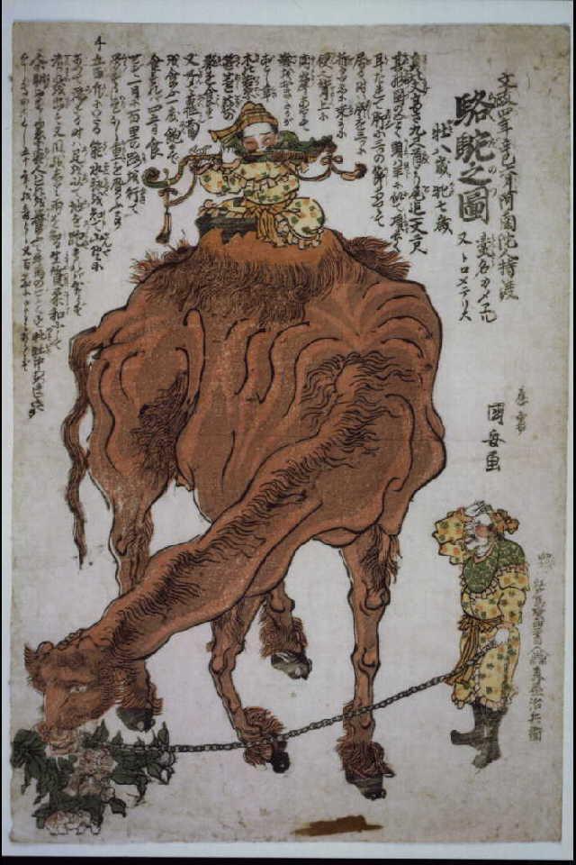 作品画像:駱駝之図