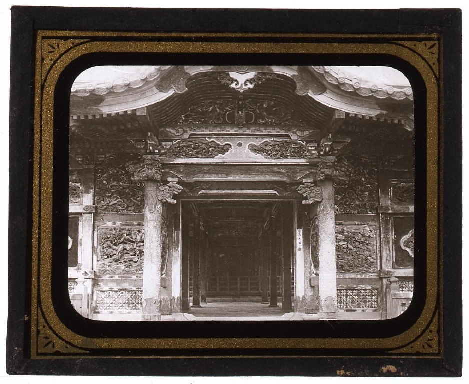 作品画像:芝増上寺の拝殿