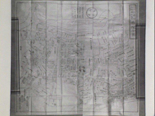 作品画像:元治再刻今井谷市兵衛町赤坂全図