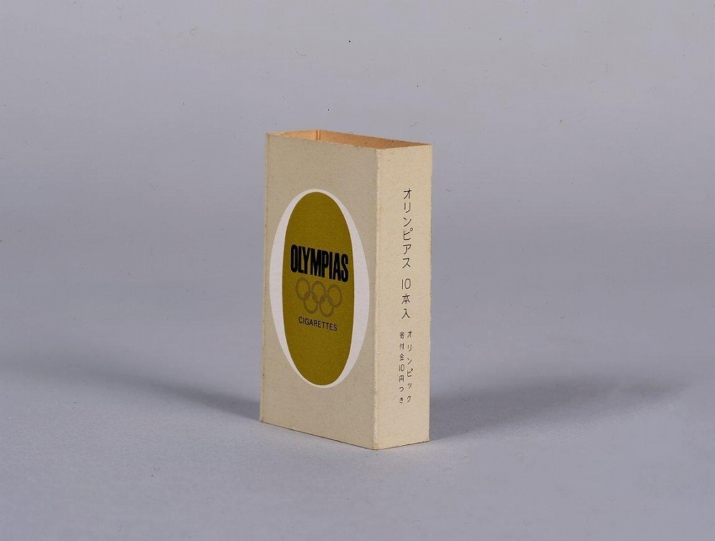 作品画像:煙草 OLYMPIAS外箱(五輪マーク入)