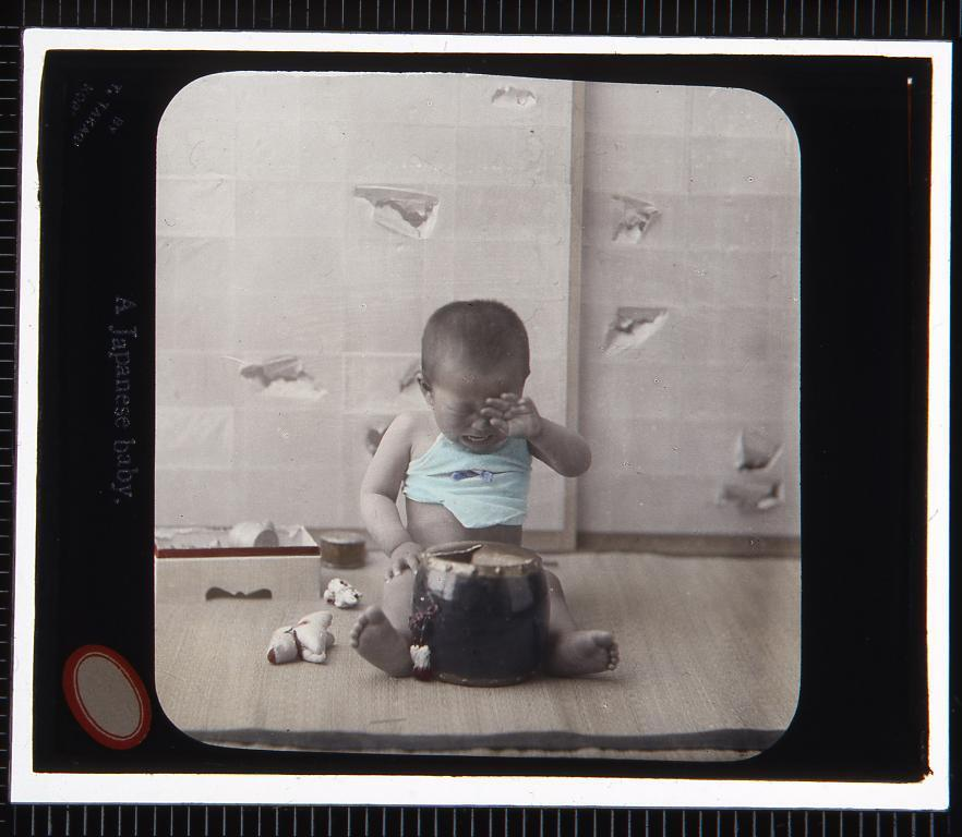 子供(幻灯原板)