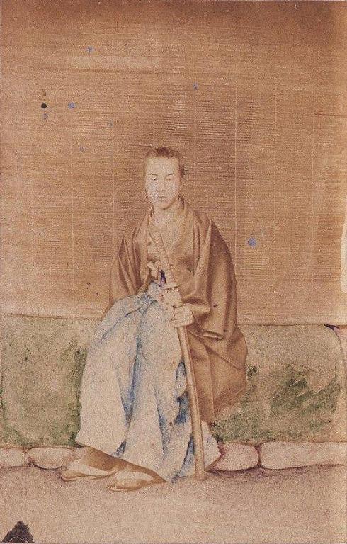 作品画像:川村清雄肖像(17歳 駿府にて)