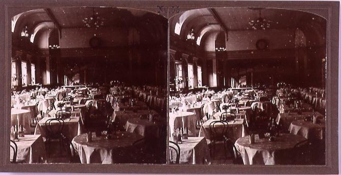 ホテル(アストルハウス)の食堂(No.55)
