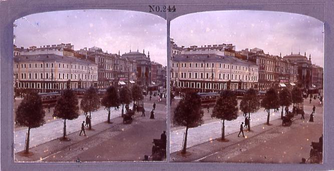 作品画像:ロシアのネフスキー街(一)(No.244)