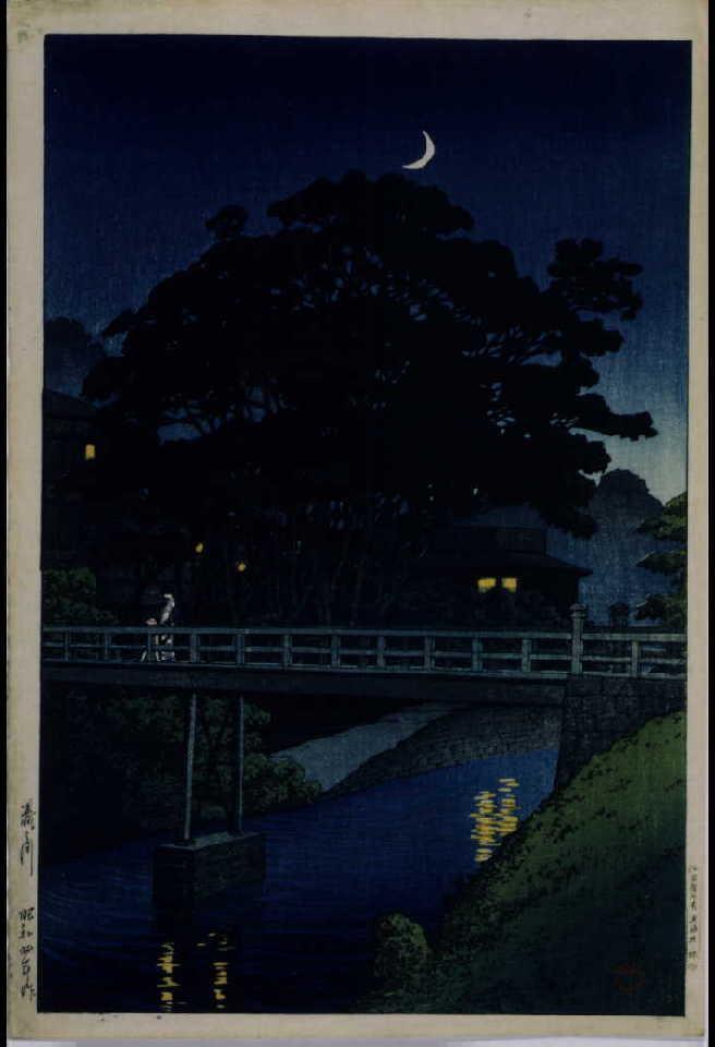 作品画像:東京二十景 滝の川