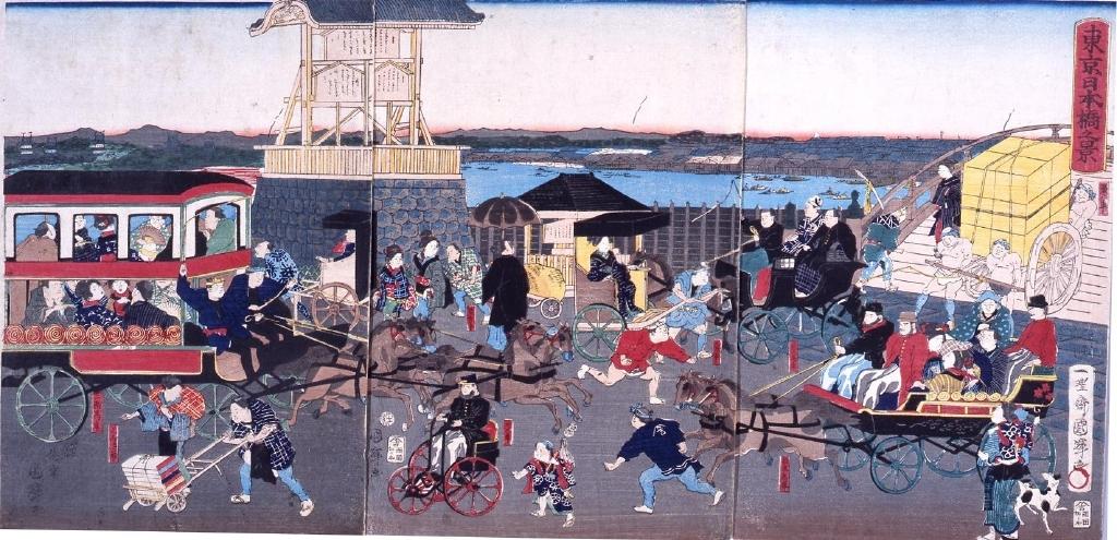 作品画像:東京日本橋之景