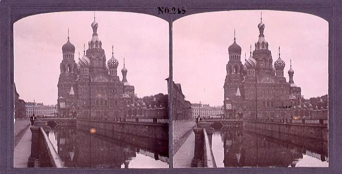 作品画像:ロシアの紀念寺院(No.248)