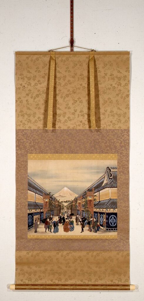 作品画像:駿河町正月賑わいの図