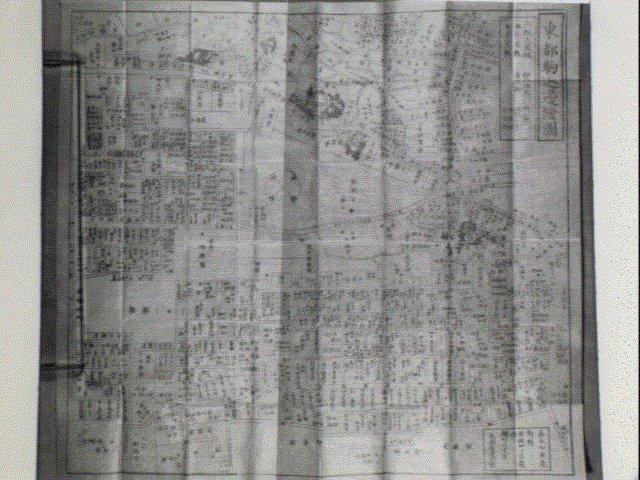 作品画像:東都駒込辺絵図