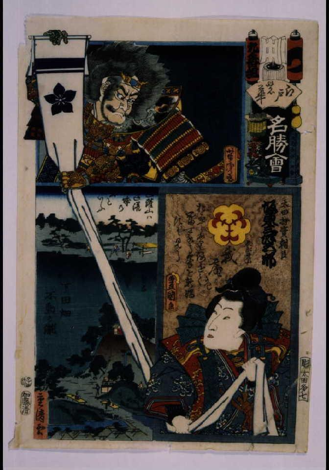 作品画像:江戸の花名勝会 つ 九番組