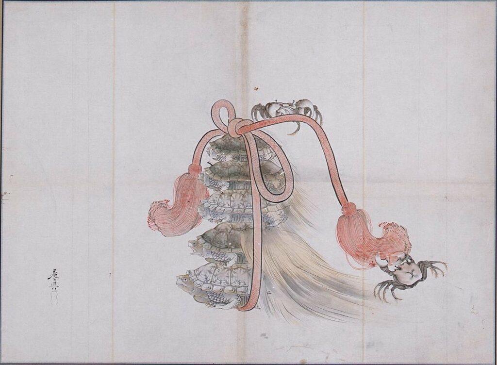 作品画像:粉本 徳若五万歳