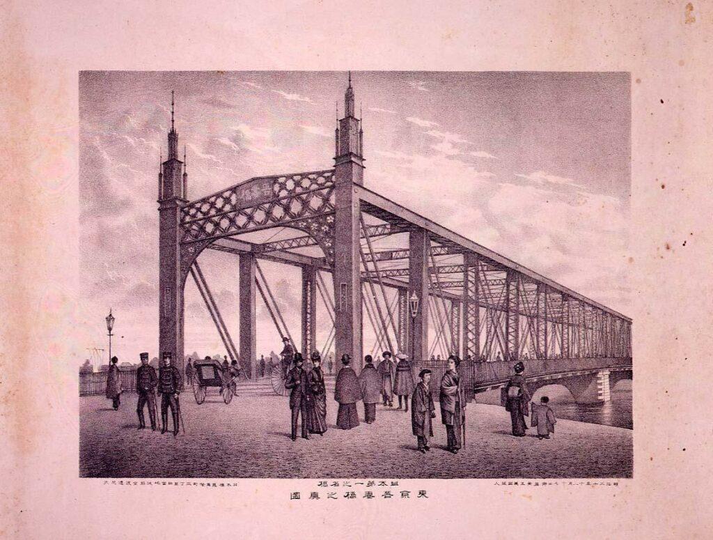 作品画像:東京吾妻橋之真図