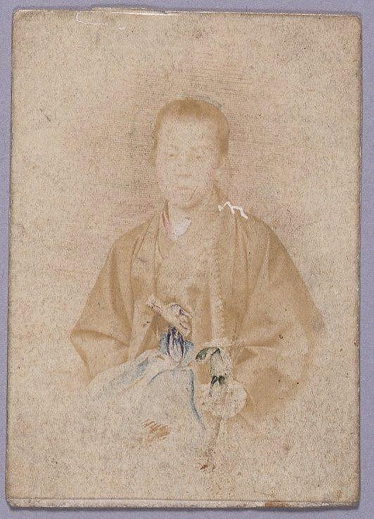 作品画像:川村清雄肖像
