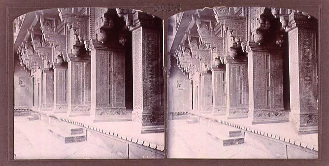 作品画像:ジャハンギル皇帝宮殿の外廊(No.192)