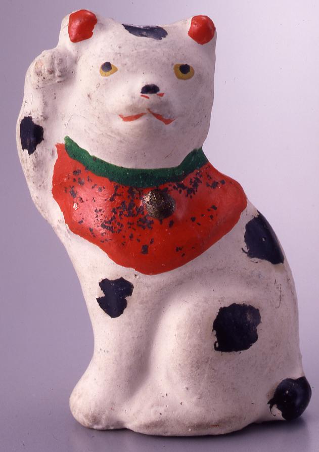 作品画像:今戸人形 丸〆猫