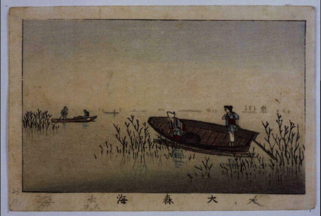 作品画像:東京真画名所図解 大森海
