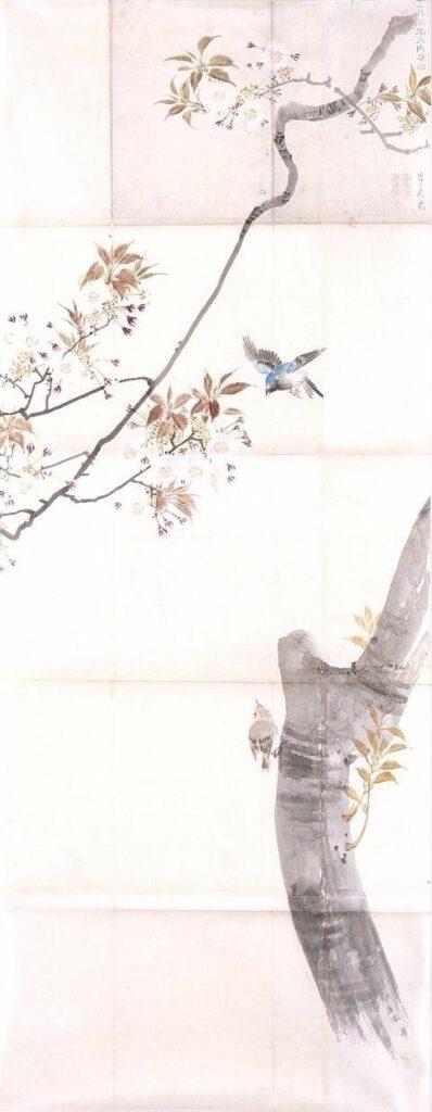 作品画像:粉本 桜花飛鳥